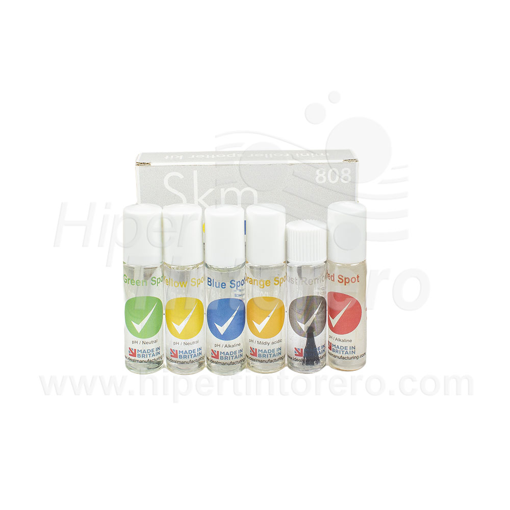 Kit de desmanchado mini roll-on